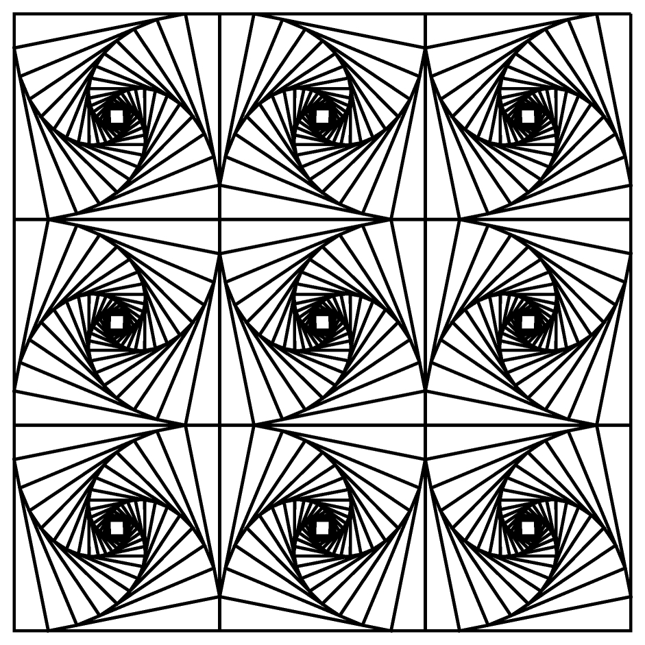 941x941 Fancy Optical Illusion Coloring Pages 72 About Remodel Coloring
