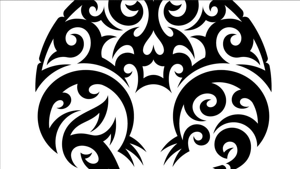 960x540 Drawing Vector Graphics Tribal Illustration