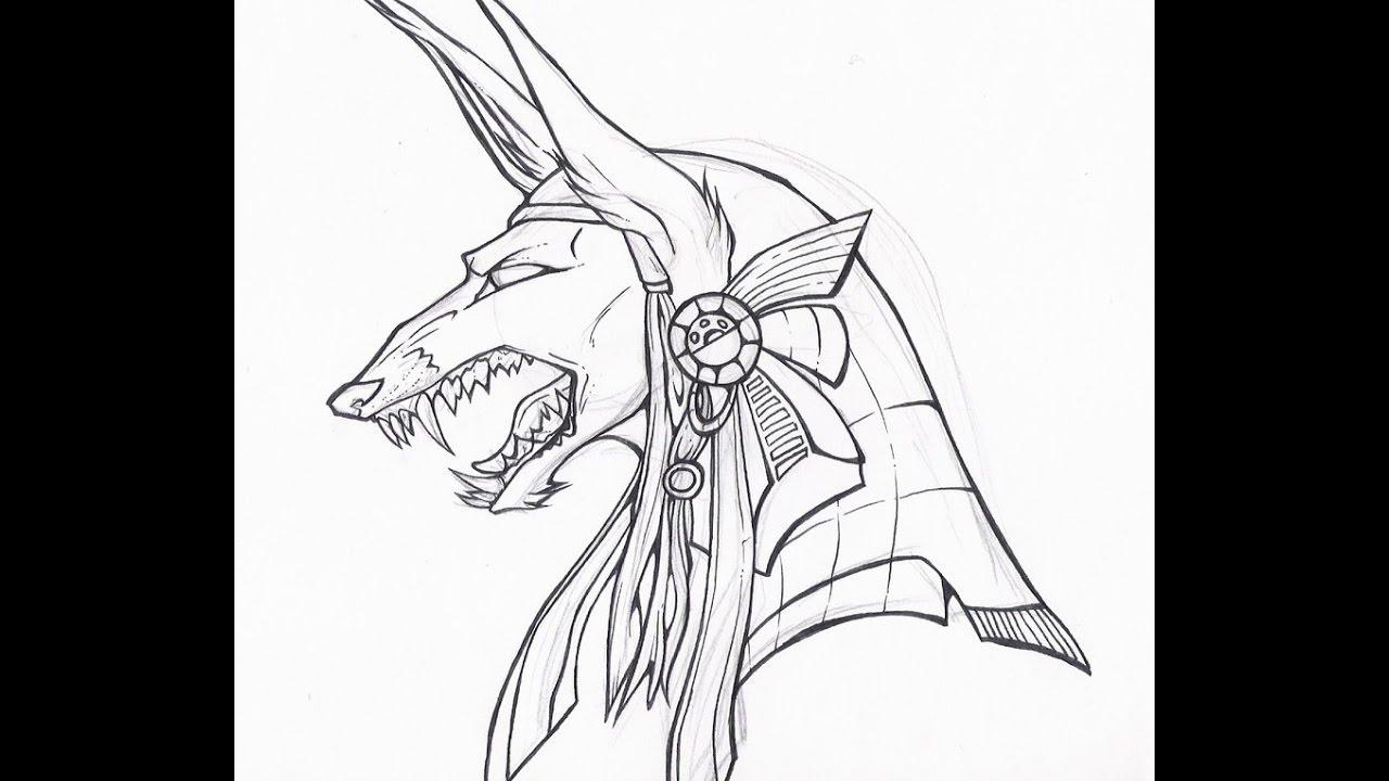 1280x720 How To Draw Anubis