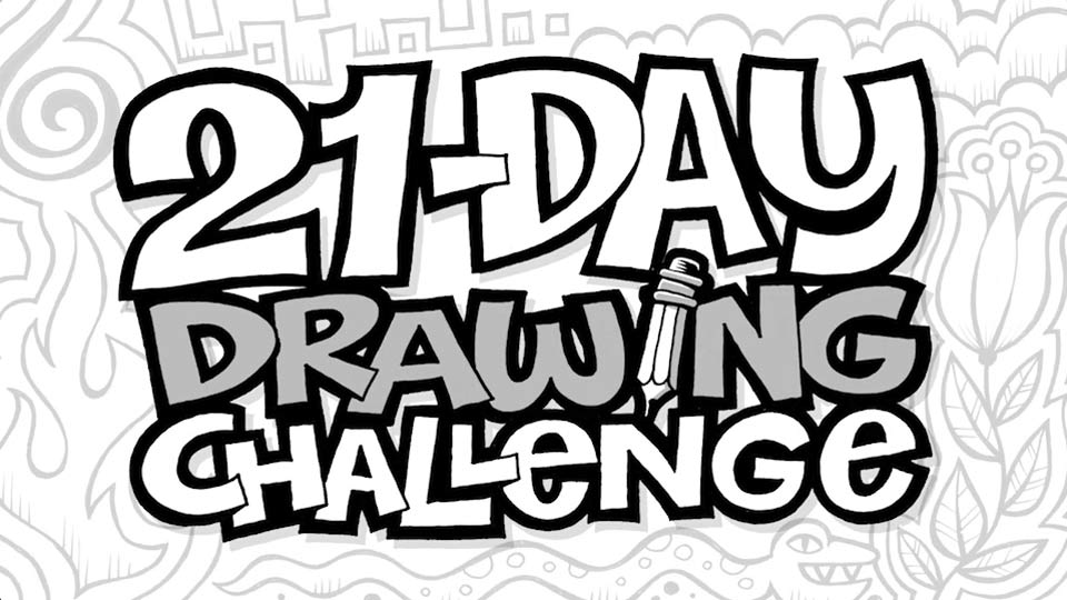 960x540 21 Day Drawing Challenge