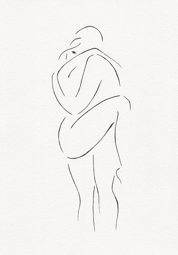 570x814 Erotic Illustration For Bedroom Gallery Wall Sets. Black And White