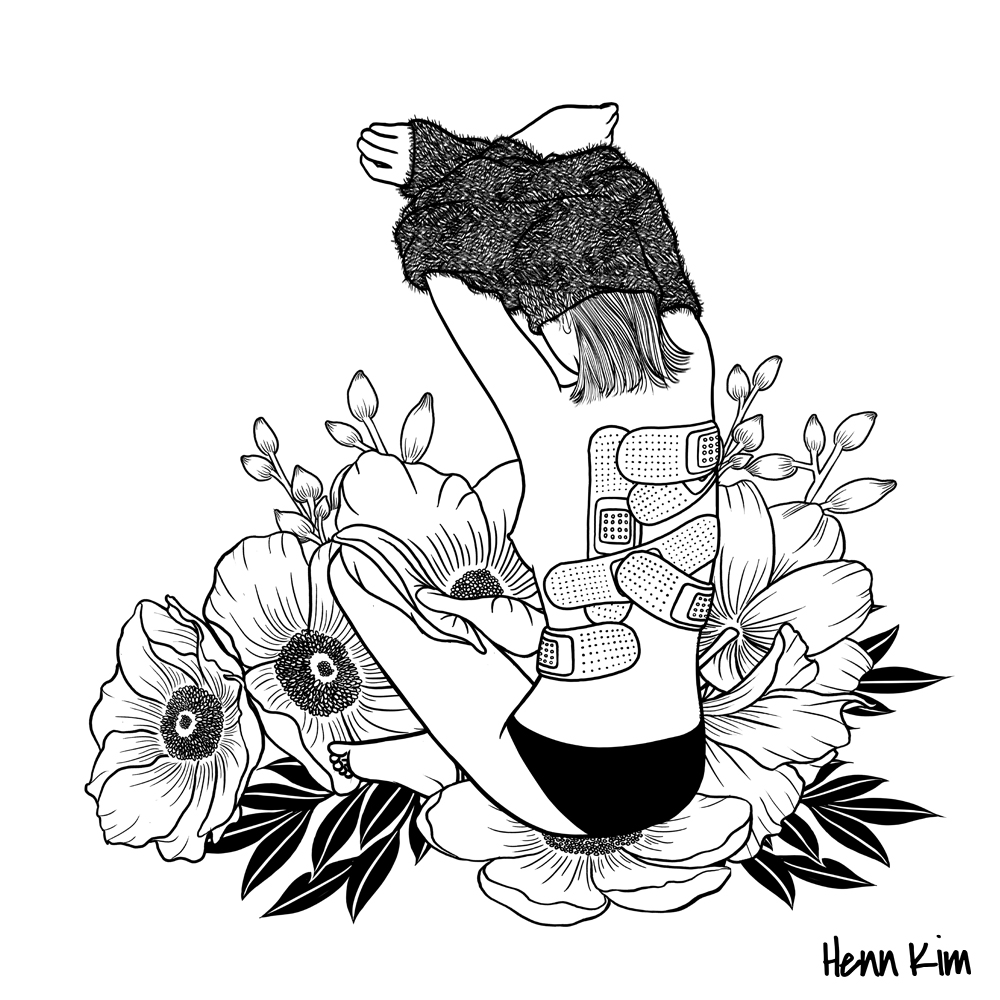 1000x1000 I'M Not Mad, I'M Hurt By Henn Kim Print Available Here Ink