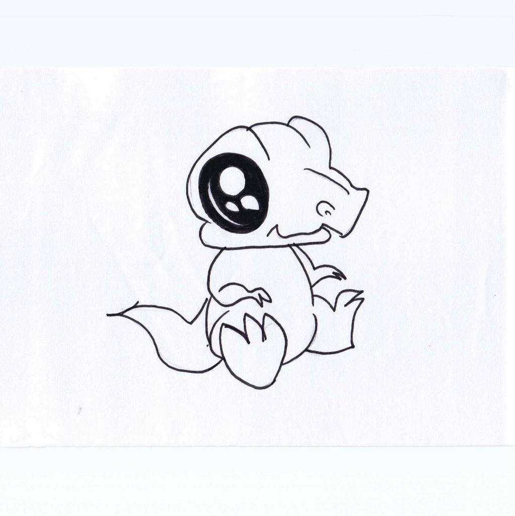 1023x1024 Small Cute Drawings Cute Small Drawings Children's Illustrations