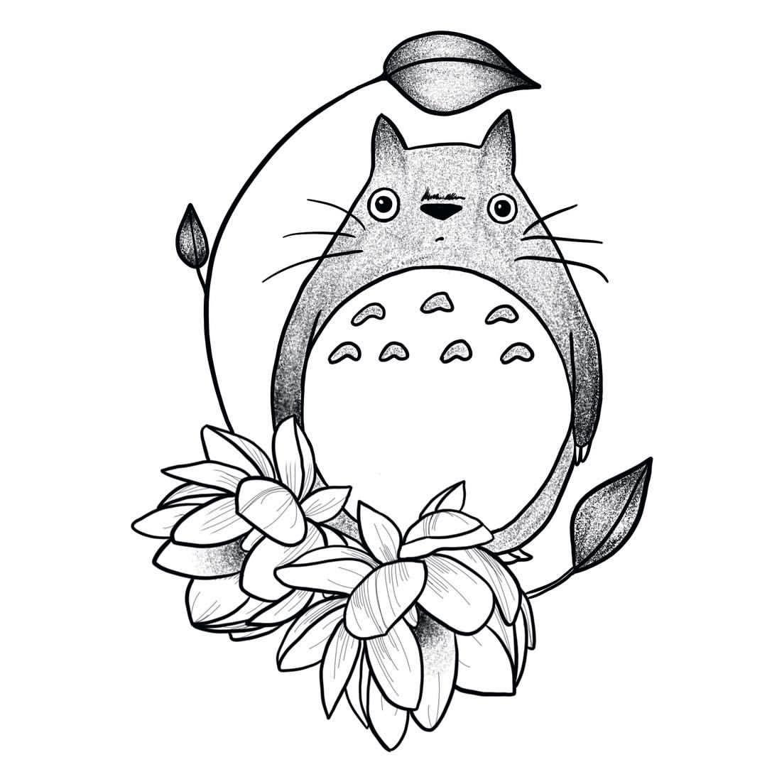 1080x1080 Totoro Totoooro.
