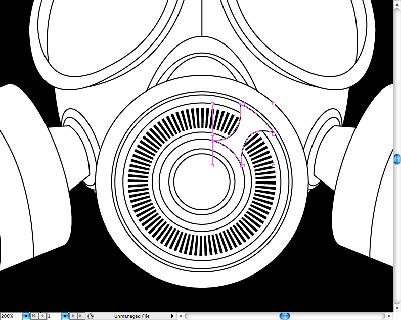 793x633 Create A Badass Gas Mask In Illustrator
