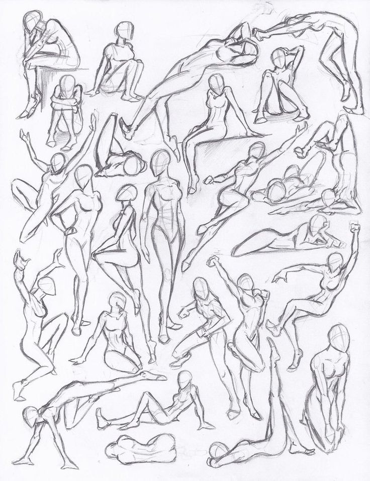 736x957 Drawn Couple Figure Drawing