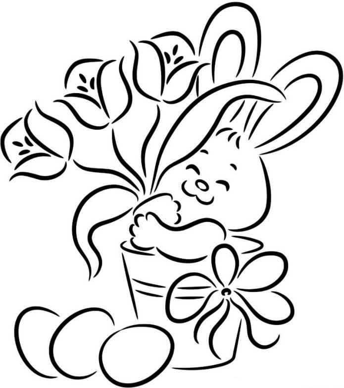 695x783 Easter Drawings Many Interesting Cliparts