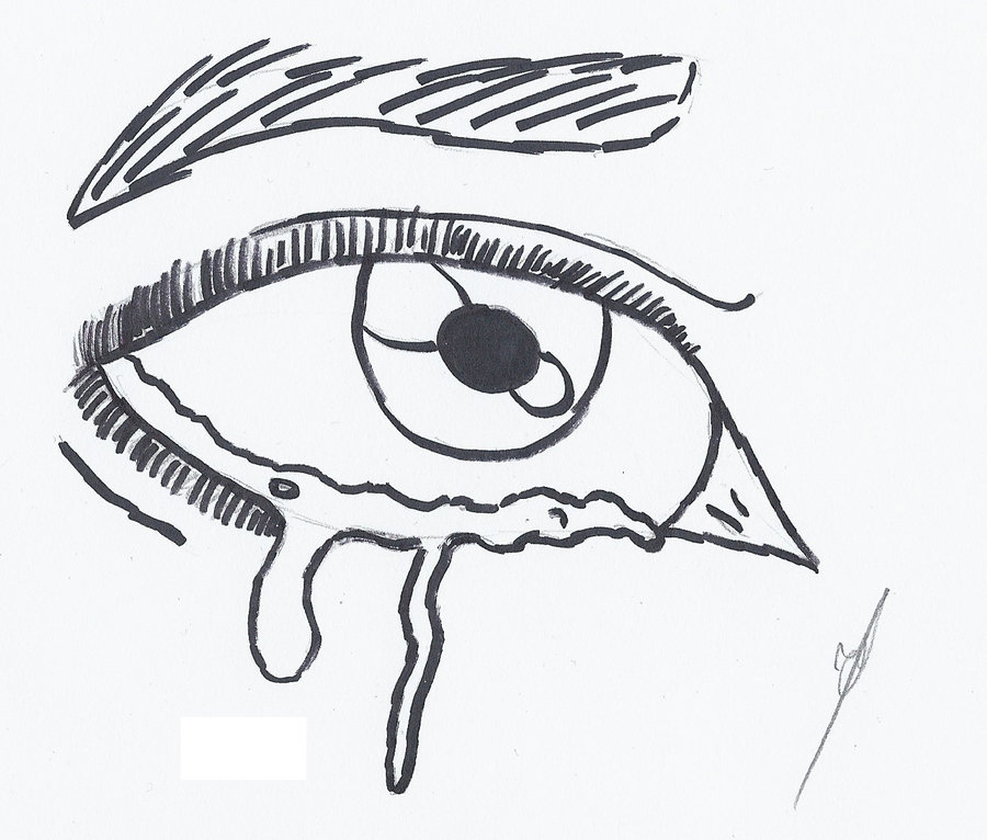 900x766 Gallery Easy Drawings Of Eyes Crying,