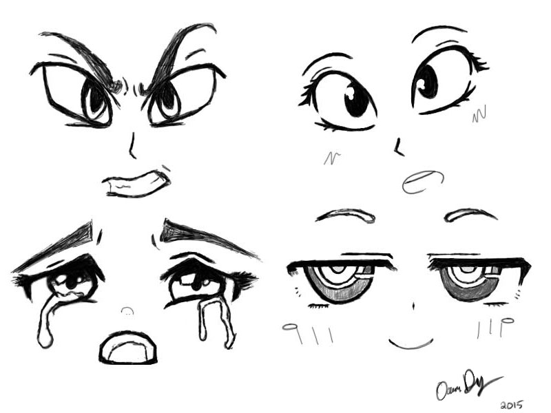 800x600 Practice Drawing Eyes By Roxybear147