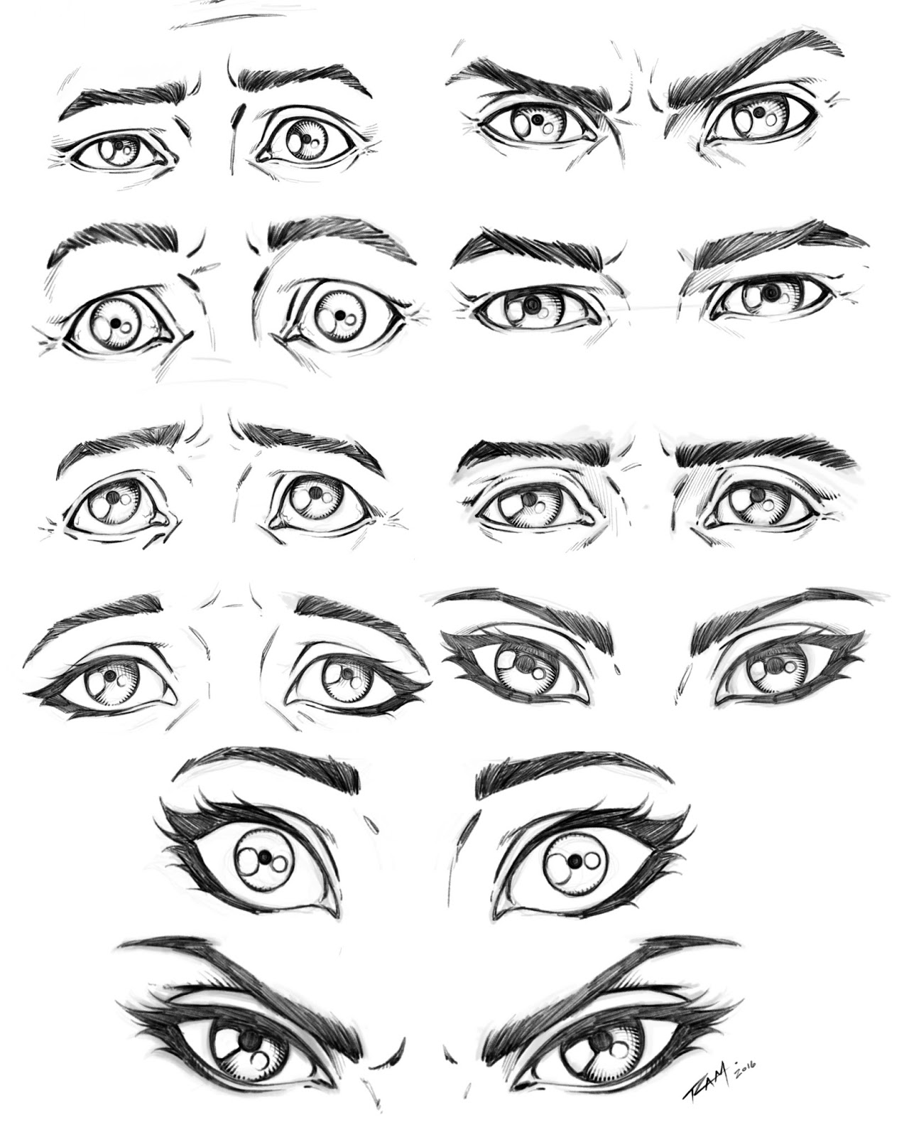 1280x1600 Ram Studios Comics Drawing Eyes