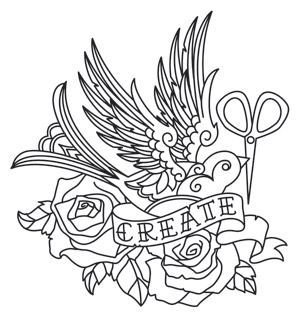 300x318 Flight Of Imagination Detailed Tattoo Styling Makes Up