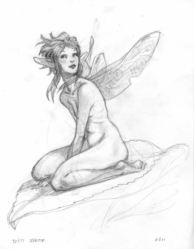 626x800 Tony Diterlizzi, Never Abandon Imagination Sketchbook Gallery