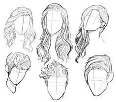 236x206 Awesome Head An Hair Scketches. Practice Styles,