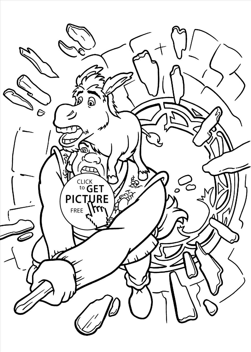 1024x1435 Great Shrek Coloring Pages Imagine Unknown Resolutions High