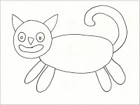 200x151 Another Folk Art Cat Art Projects For Kids