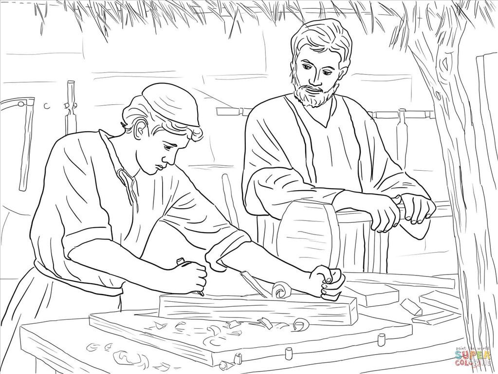 1023x767 Ideal Jesus Coloring Page Imagine Unknown Resolutions High