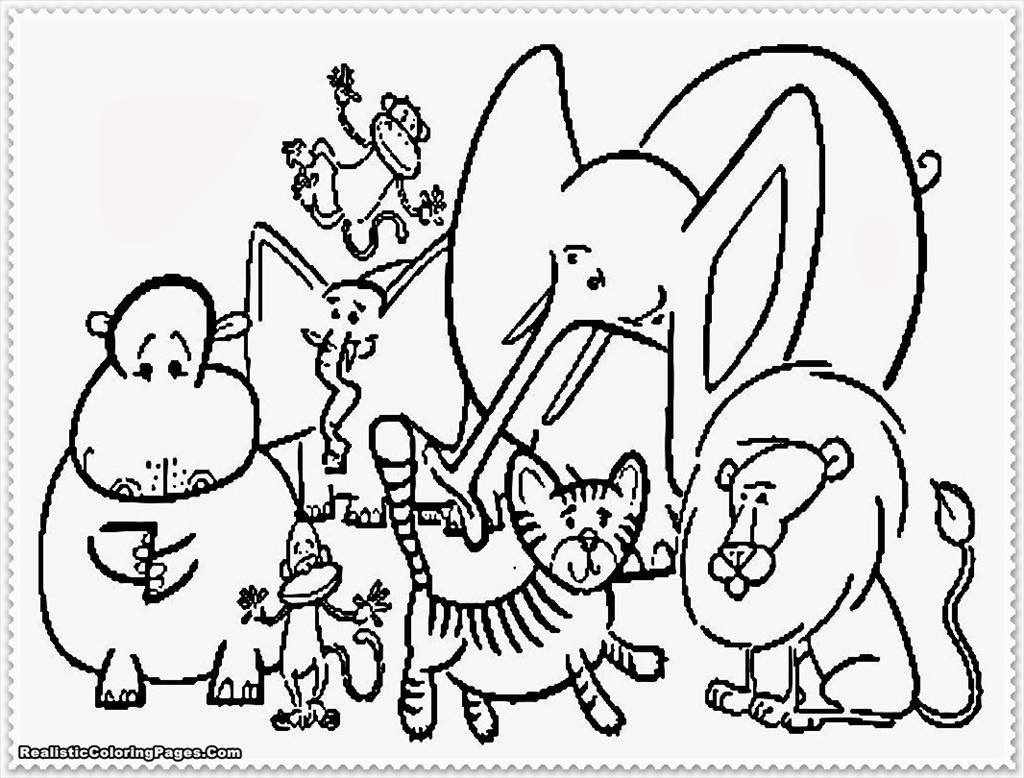 1024x778 Top Zoo Animal Coloring Pages Imagine Unknown Resolutions High