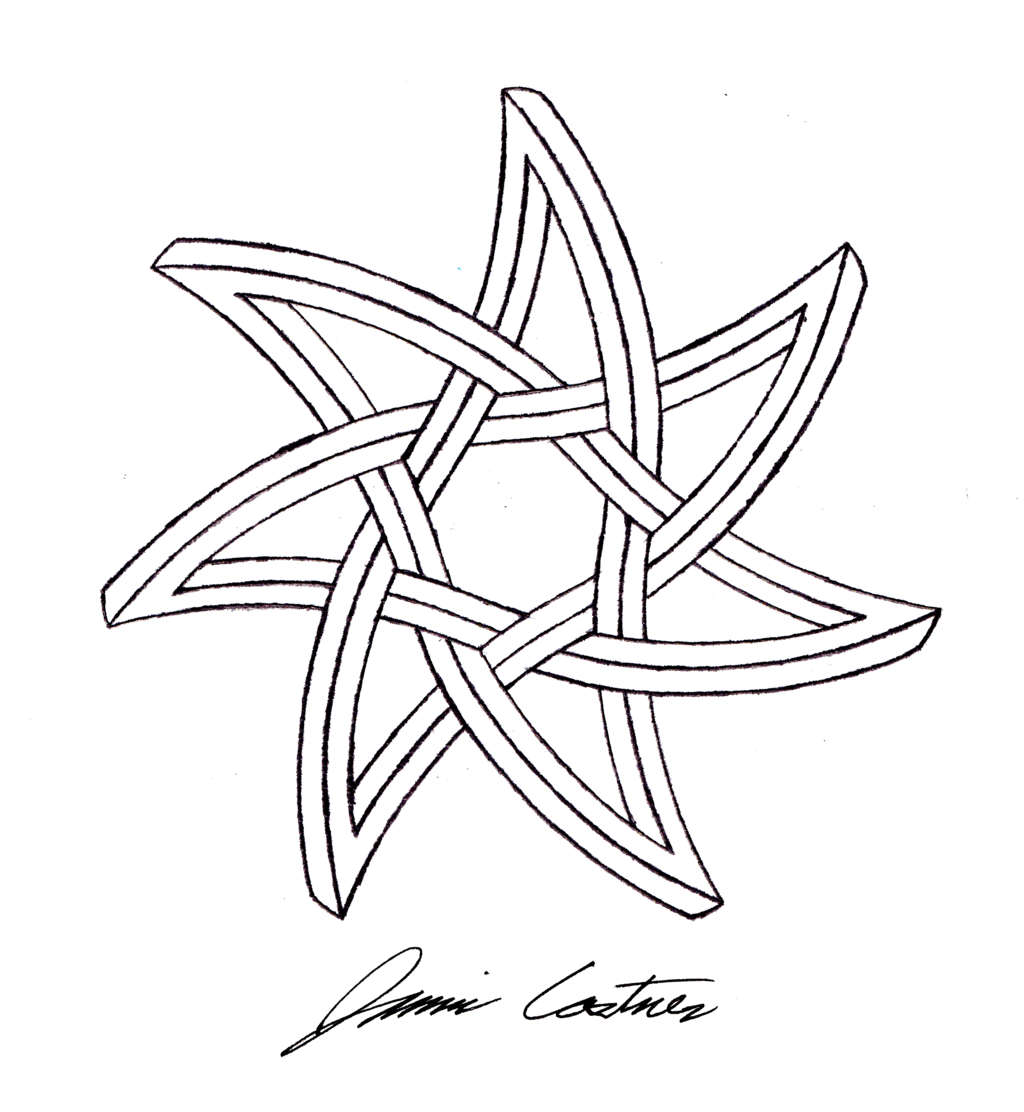 1024x1112 Curved Seven Pointed Impossible Star By Thecelticpoet