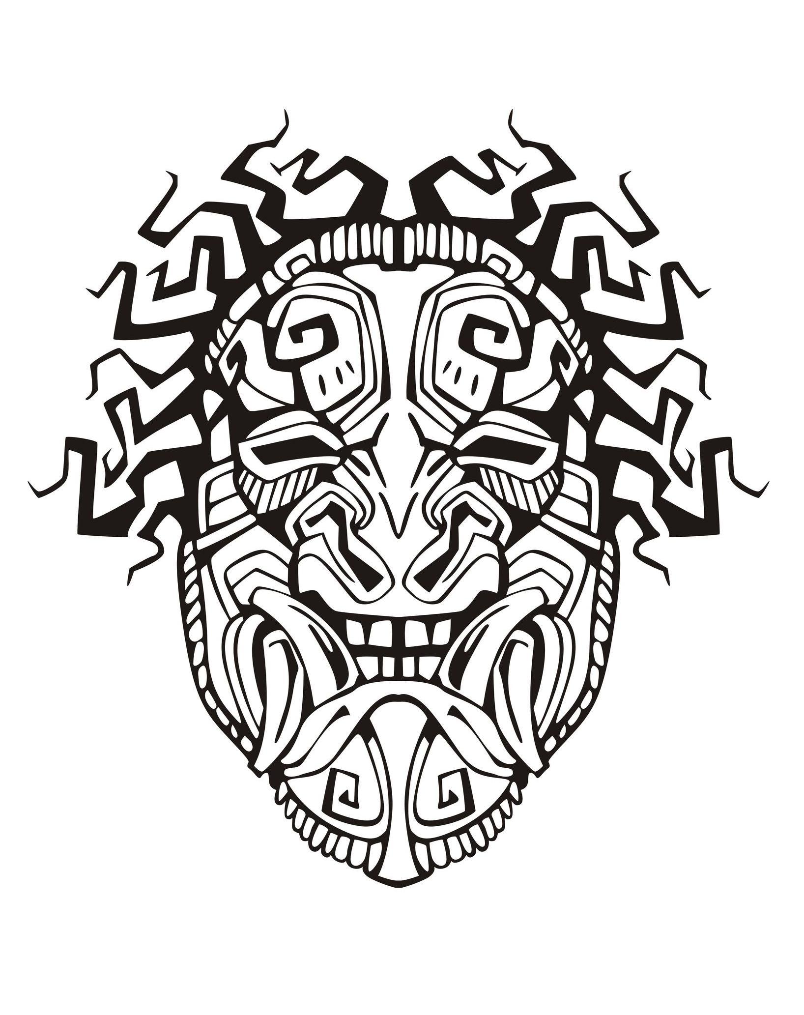 1636x2065 Mask Inspiration Inca Mayan Aztec 1 Mayans Amp Incas