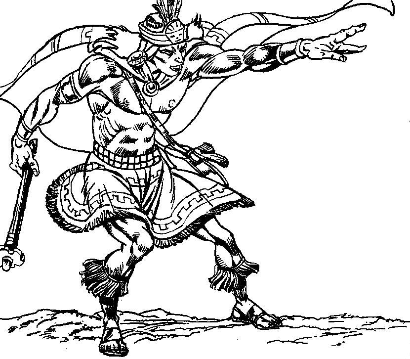 830x726 Peruvian Inca Warriors Coloring Pages Amphibian Coloring Pages
