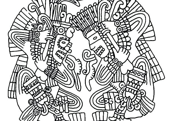 600x425 Inca Coloring Pages