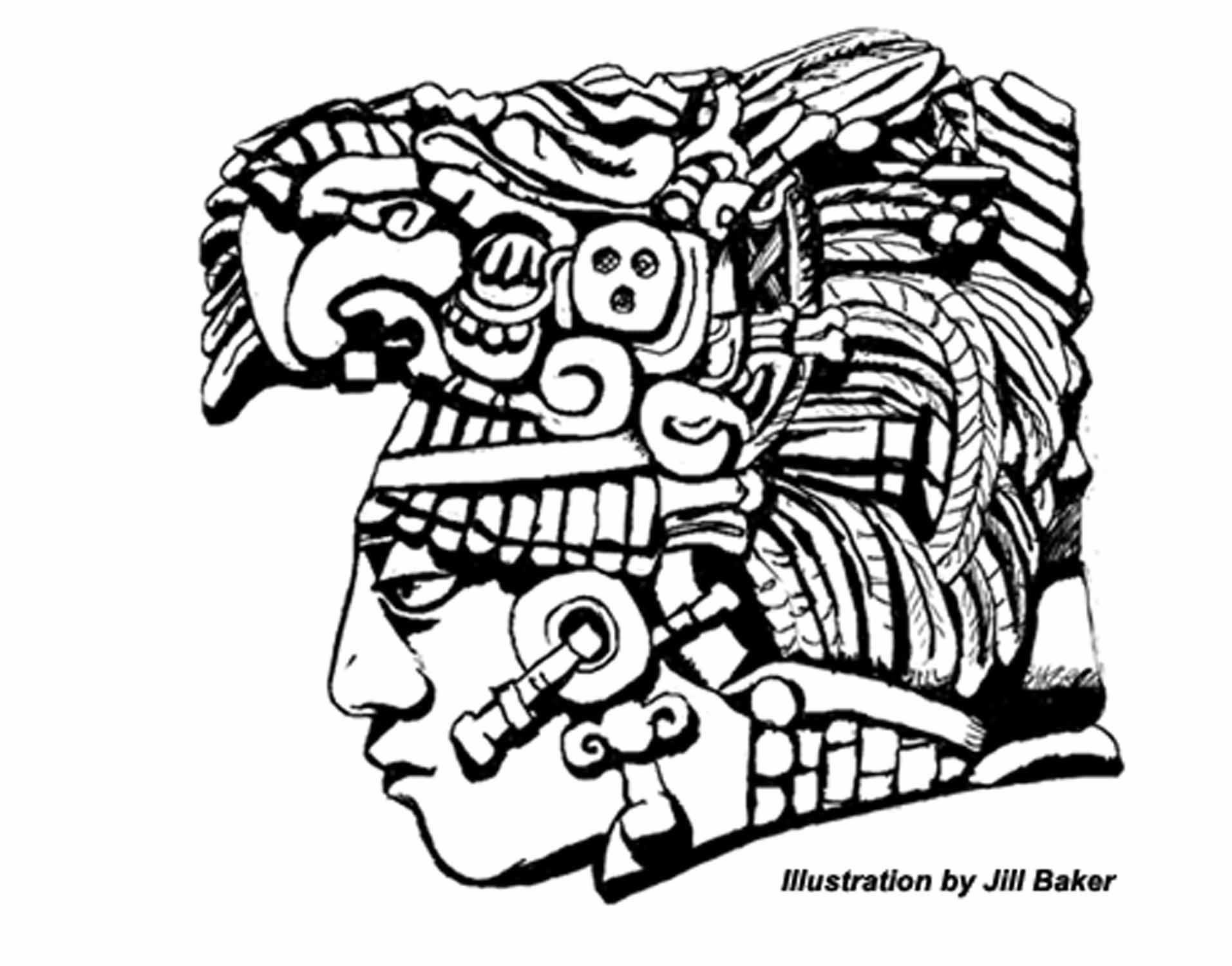 1913x1500 Images For Gt Simple Mayan Drawings Work Maya