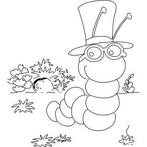 300x300 Smart Inchworm Rasgos Insects