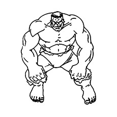 230x230 25 Popular Hulk Coloring Pages For Toddler