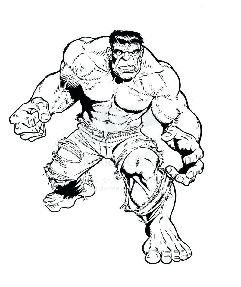 Incredible Hulk Drawing at GetDrawings | Free download
