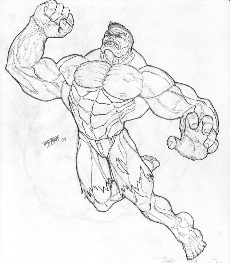 800x912 The Incredible Hulk By Peterman2070