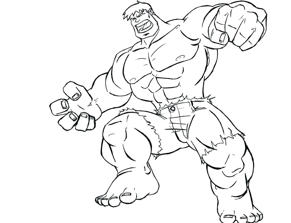 980x750 Coloring Pages Of Hulk Hulk Printable Red Hulk Coloring Pages