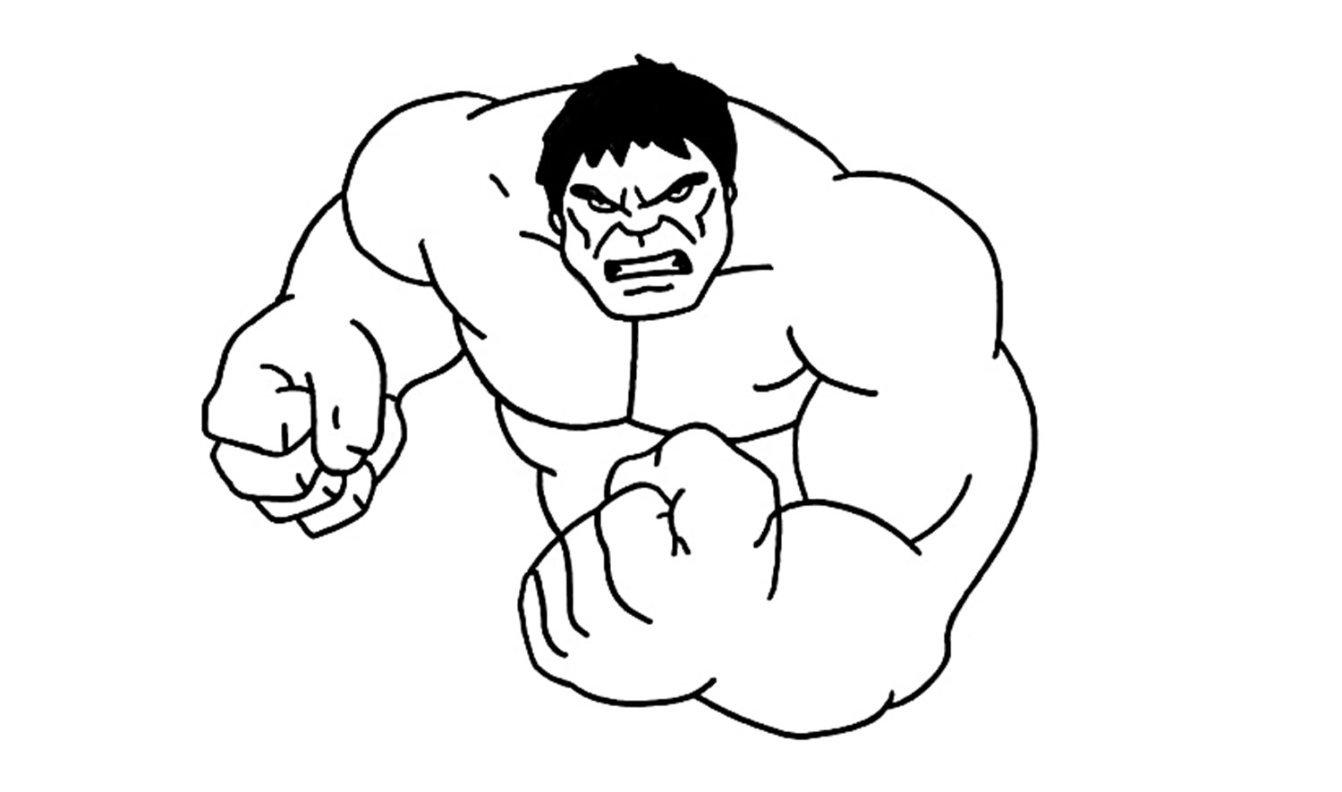 1500x886 How To Draw The Hulk (Incredible, Avengers)