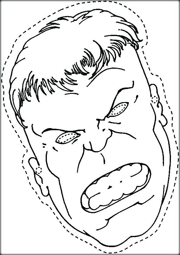 Incredible Hulk Face Drawing at GetDrawings.com | Free for personal ...
