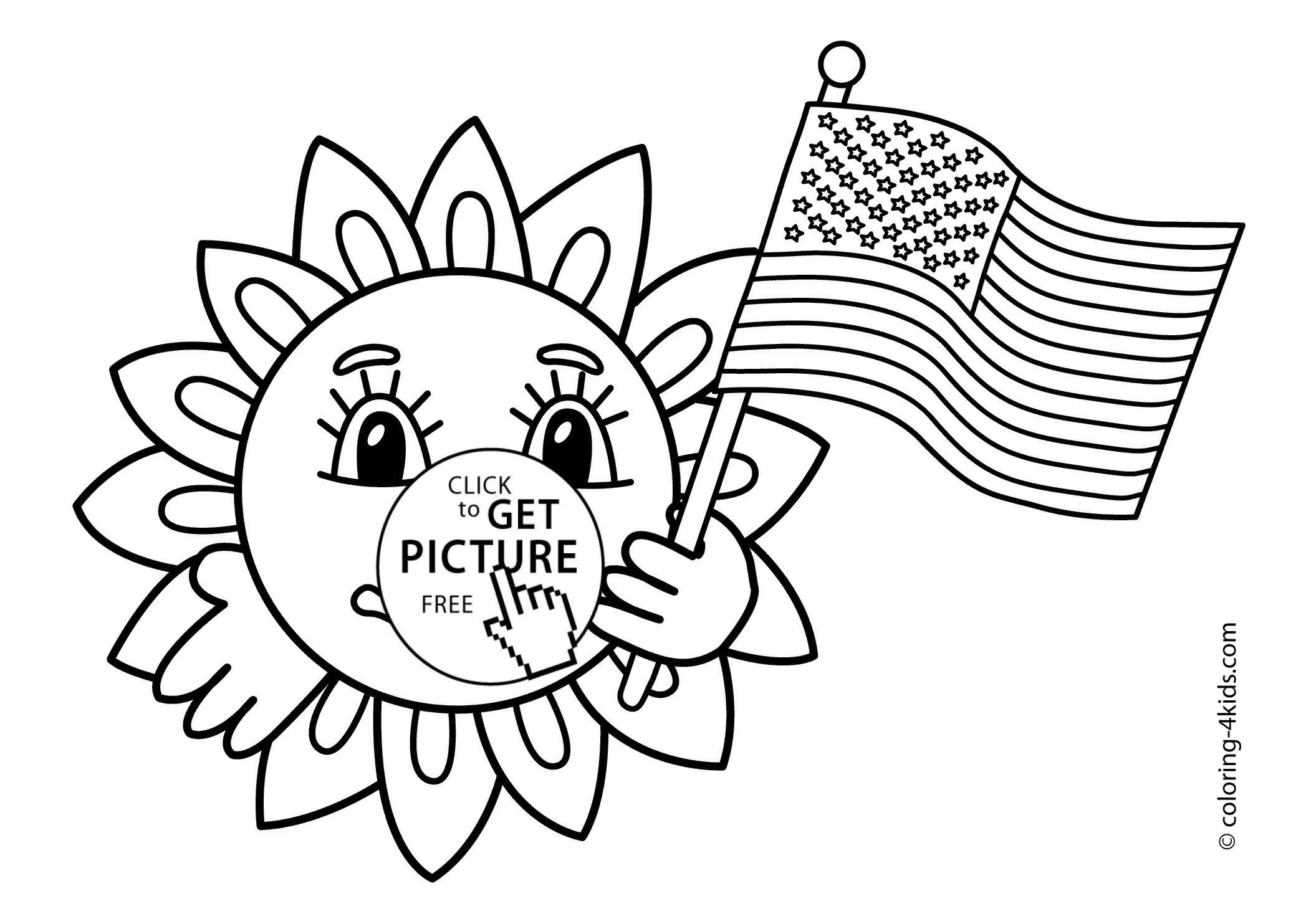 2079x1483 July 4 Rocket Coloring Pages Inspirational Happy Independence Day