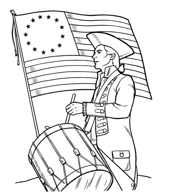 570x644 International Independence Day Coloring Page Independence Day