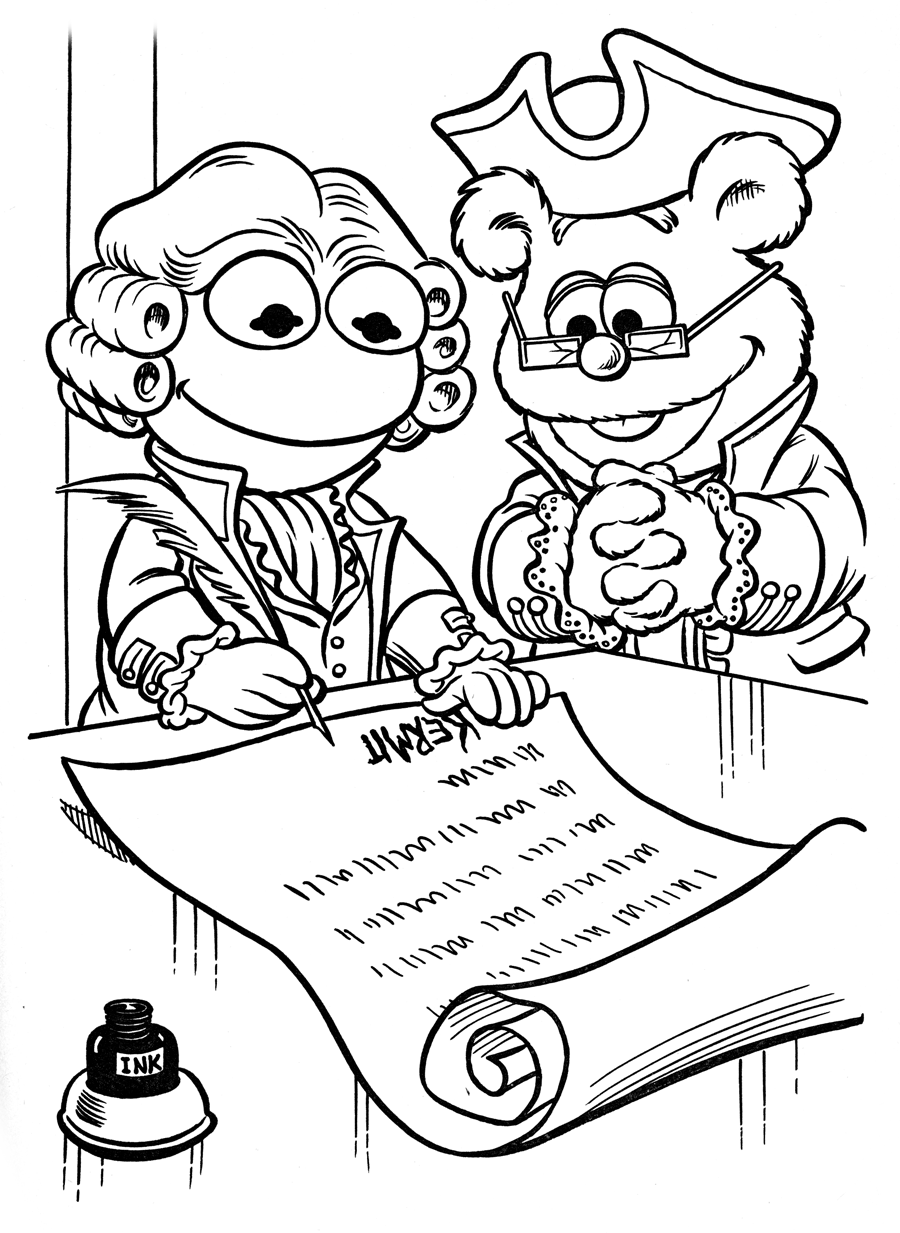 900x1233 The Declaration Of Independence Muppet Wiki Fandom Powered By