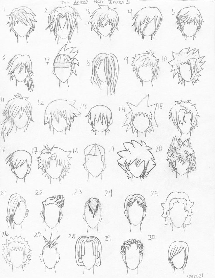 How To Draw Cute Girl Hairstyles