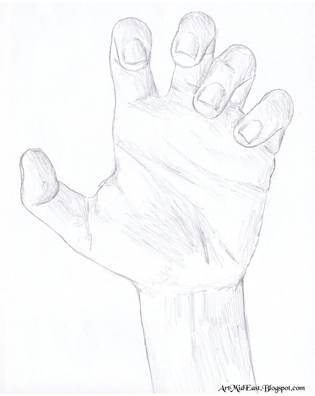 1274x1600 How To Draw A Hand