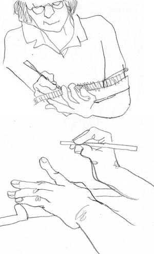 300x494 Learning Daily Drawing Hands