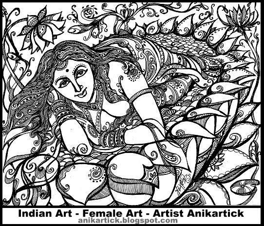 542x464 Female Illustration