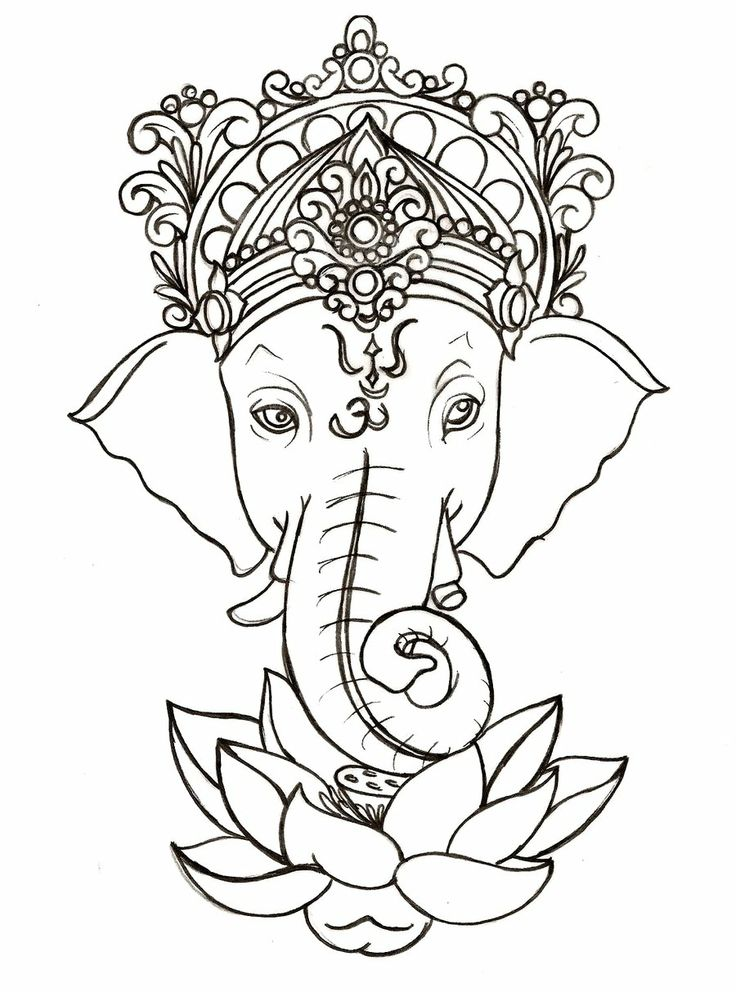 736x992 Ganesh God Of Obstacles And Wisdom. I'D Love This Below My