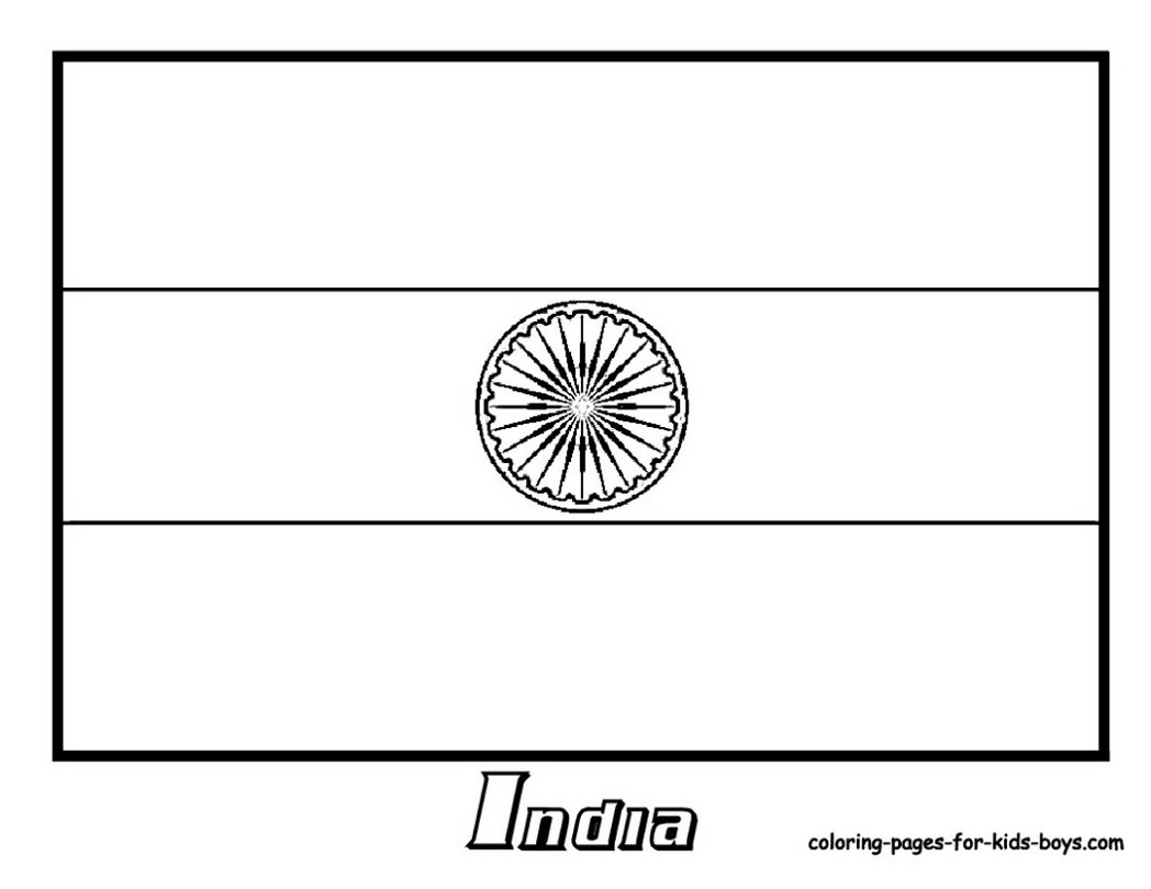 1048x810 Flag India Coloring Page Pages Book For Boys 1156756 Coloring