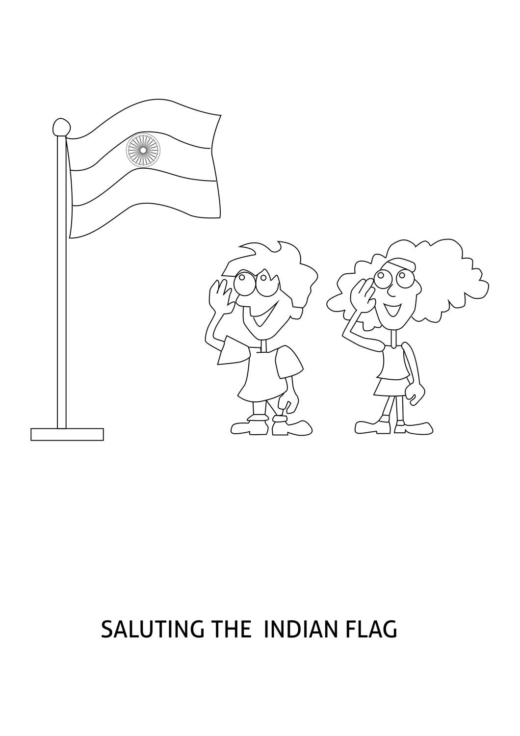 1060x1500 India Coloring Pages Printables Best Of Flag Of India Coloring