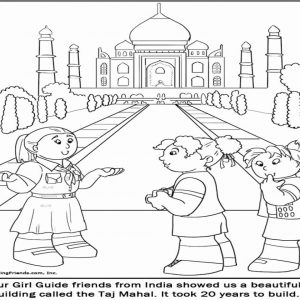 300x300 India Coloring Pages Printables Best Of India Gate Coloring Page