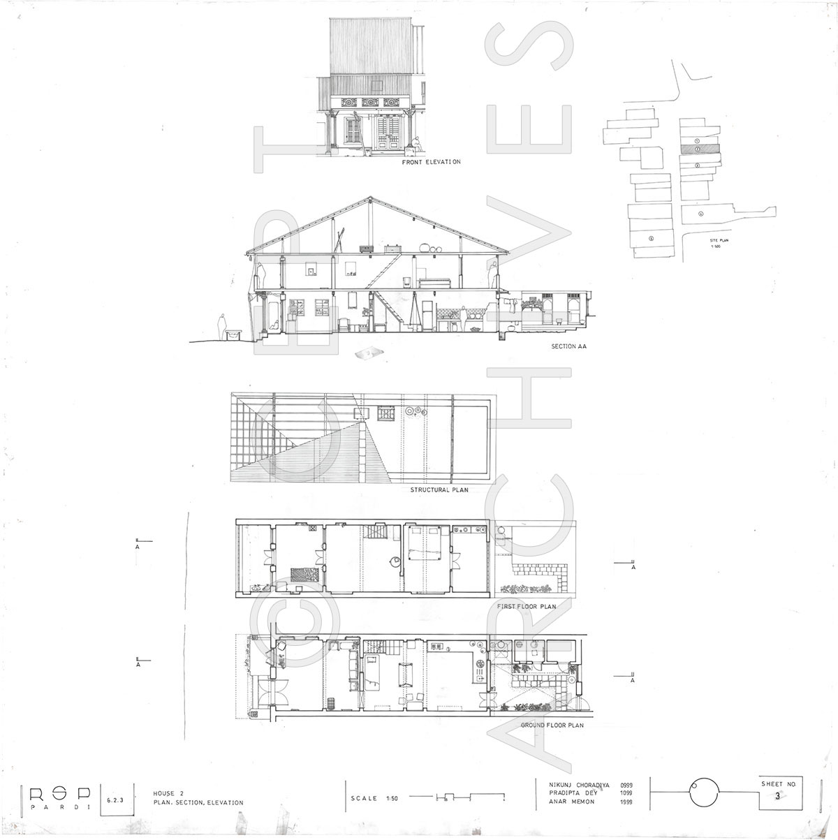 1200x1203 Pardi Town, Gujarat, India Drawings Amp Sketches Cept Archives