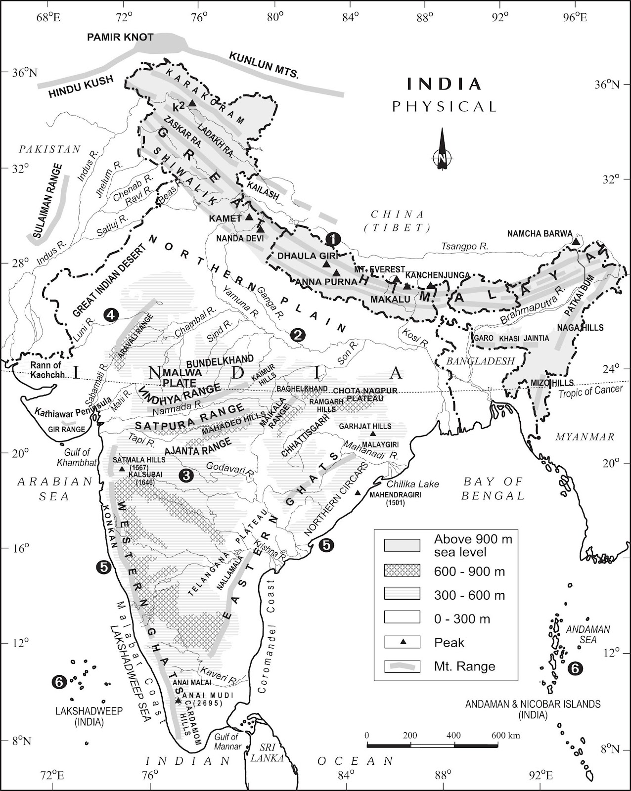 1276x1600 Upsc General Studies And Current Affairs 2015 Physical Features