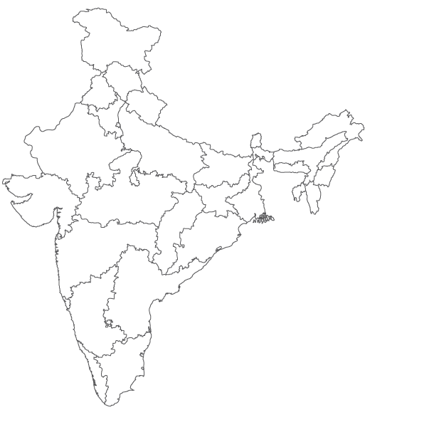 610x600 Carbon Cubes India Map