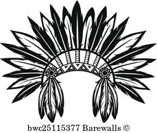 229x194 1,455 Indian tribal headdress Posters and Art Prints Barewalls
