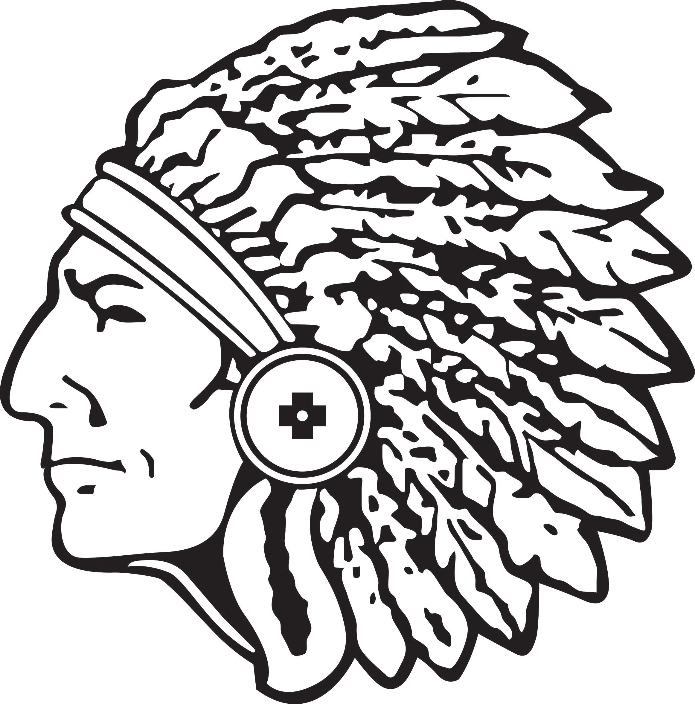 2324x2354 Headdress clipart chieftain