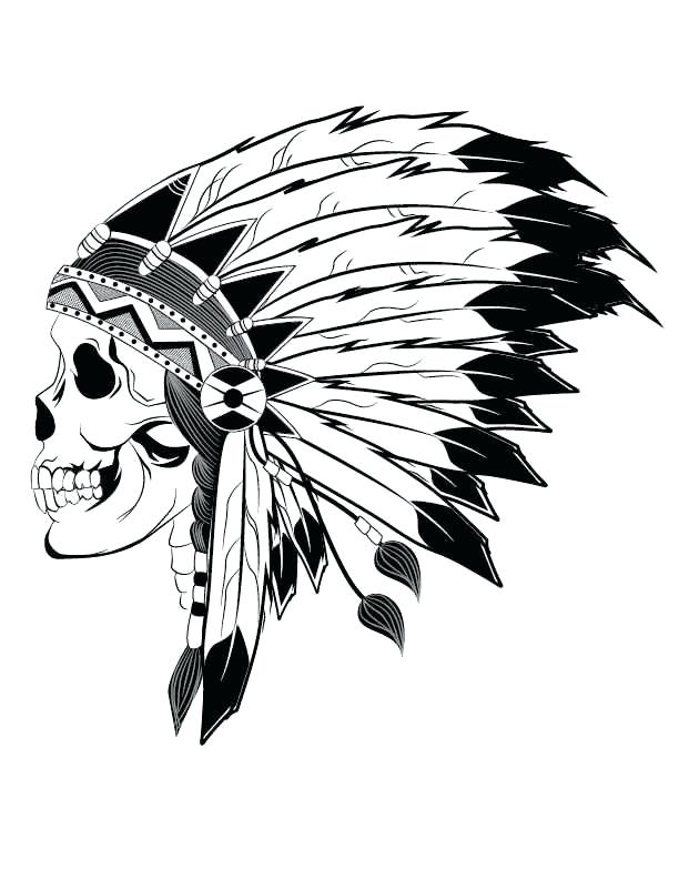 612x792 Indian Chief Headress Headdress – media